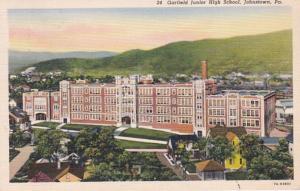 Pennsylvania Johnstown Garfield Junior High School 1938 Curteich