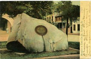 Memorial to TomoChiChi Yamacraw Indian Chief Savannah GA Georgia - pm 1906 - UDB