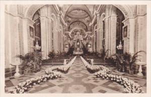 Cuba Havana Our Lady Of Mercy Church Main Altar Decorated For Wedding