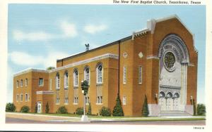 New First Baptist Church - Texarkana TX, Texas - Linen