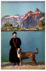 Dog , St. Bernard , Preist