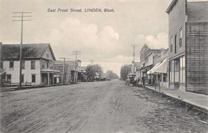 Lynden Washington~East Front Street~Lynden House Hotel~Boardwalk Stores~1910 PC