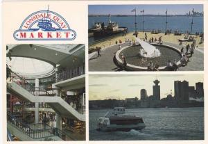 3-Views, Lonsdale Quay Market, North Vancouver, British Columbia, Canada, 50-...