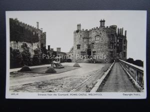 Montgomeryshire WELSHPOOL Powis Castle - Old RP Postcard by Frith