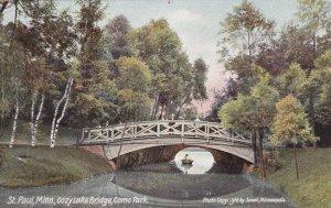 ST. PAUL, Minnesota, 00-10s; Cozy Lake Bridge, Como Park