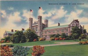 Missouri Saint Louis Washington University