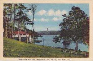 North West Arm from Waegwoltic Club - Halifax NS, Nova Scotia, Canada - pm 1946