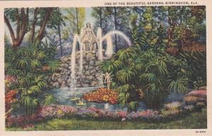 Alabama Mobile Fountain At Bellingrath Gardens Curteich