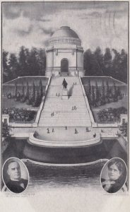 CANTON, Ohio, PU-1907; William McKinley Gravesite