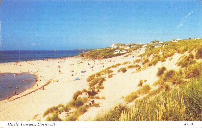 Vintage Postcard CORNWALL Hayle Towans by H. Barton #A9BO