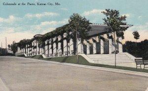 KANSAS CITY, Missouri, 1900-1910's; Colonnade At The Paseo