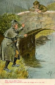 Humor - What are ye after Patsey? (Fishing)