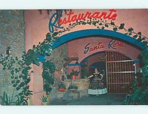 Unused Pre-1980 SANTA ROSA MEXICAN RESTAURANT Monterrey MEXICO v7096