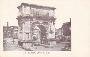 Italy Rome Arco di Tito