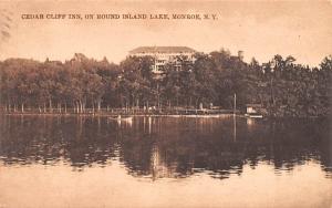 Cedar Cliff Inn Monroe, New York Postcard