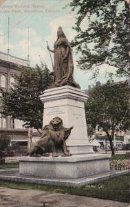 Canada Hamilton Queen Victoria Statue Gore Park 1910