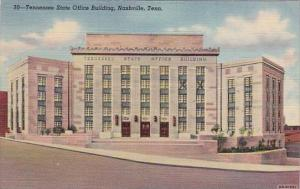Tennessee State Office Building Nashville Tennessee 1951