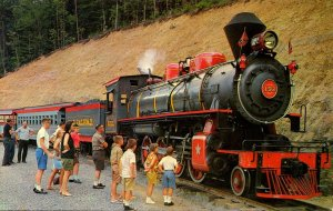 Tennessee Pigeon Forge Goldrush Junction Railroad 1964