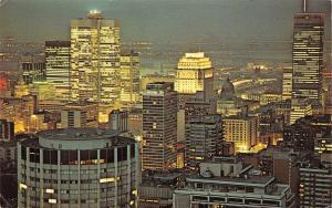 Canada Montral P. Q. An impressive view of Montreal General view