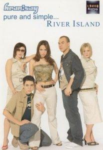 Hearsay Pop Group River Island Advertising Postcard