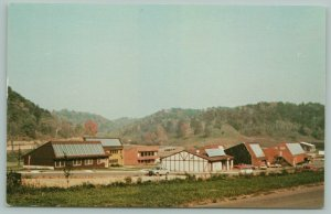 Soldiers Grove Wisconsin~Solar Town Center~First Solar Village~c1983~Postcard