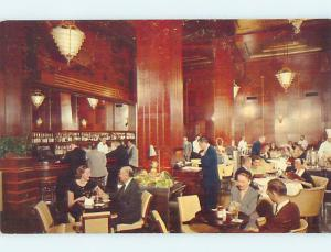 Unused Pre-1980 CLIFT HOTEL RESTAURANT San Francisco California CA M8846
