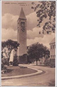 Library, Cornell U, Ithaca NY