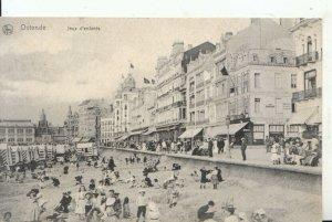 Belgium Postcard - Ostende - Jeux D'Enfants - Ref 16381A