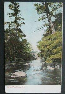 Bellamy River Dover NH 1909 Hugh C Leighton 350