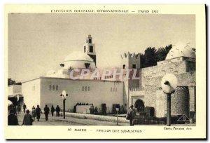 Old Postcard Paris Pavillon Cote Sud Algerian International Colonial Expositi...