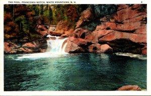 New Hampshire White Mountains Franconia Notch The Pool