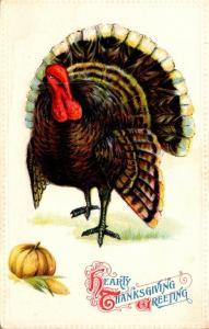 Thanksgiving With Turkey 1912