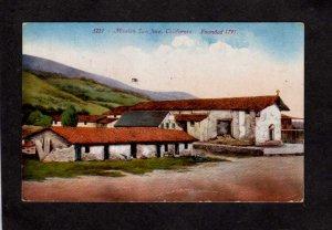 CA Mission San Jose California Postcard Vintage PC