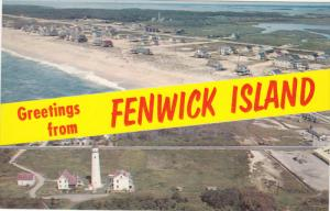 Lighthouse & Homes , FENWICK ISLAND , Delaware , 40-60s