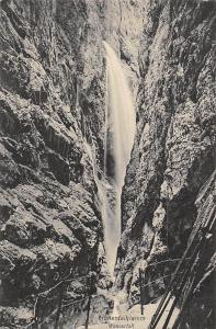 Hoehentalklamm Wasserfall Cascade Waterfall