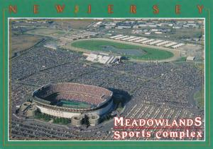 Giants Stadium and Race Track at the Meadowlands, East Rutherford NJ, New Jersey