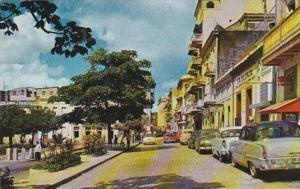 Puerto Rico San Juan Old San Francisco Street