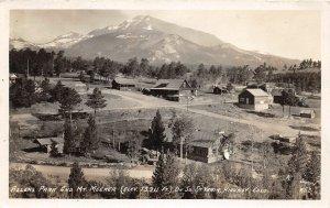 H8/ Allenspark Colorado RPPC Postcard c20s Mt Meeker Homes Truck