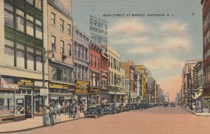 PATTERSON , New Jersey , 30-40s; Main Street at Market