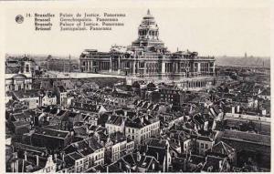 Belgium Brussels Palais de Justice Panorama Photo