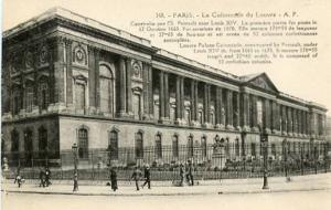 France - Paris, The Louvre Palace Colonnade