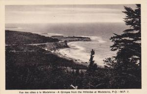 A Glimpse From The Hillsides At Madeleine, Quebec, Canada, 1910-1920s