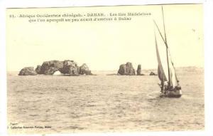 Sailboat, Les Iles Madeleines Que I'On Apercoit Un Peu Avant D'Arriver A Daka...