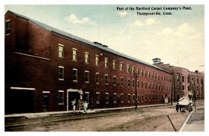 Connecticut  Thompsonville , Hartford Carpet Co. Plant