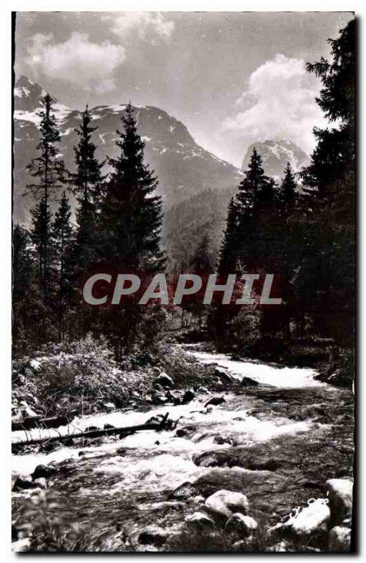 Postcard Ancient Landscapes Alpestres Torrent