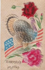 THANKSGIVING turkey & Flag , 00-10s