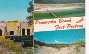 Florida Pensacola Beach and Fort Pickens