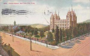 Utah Salt Lake City Temple Square 1909