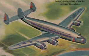 EASTERN Airlines' Lockheed Constellation airplane , 1950s