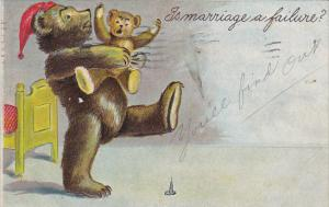 Humour Papa Bear With Baby Bear Is Marriage A Failure 1907